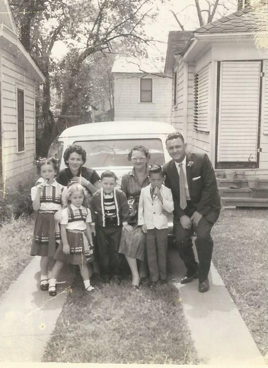 Aunt Wanda and family