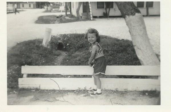 Linda at 4