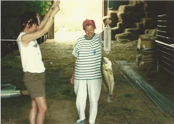 Mom and the fish