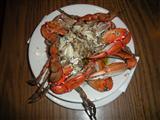 garlic crabs