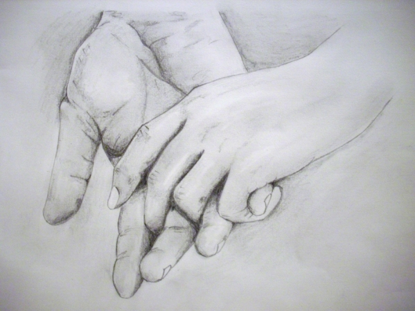 people-holding-hands-drawing_493207