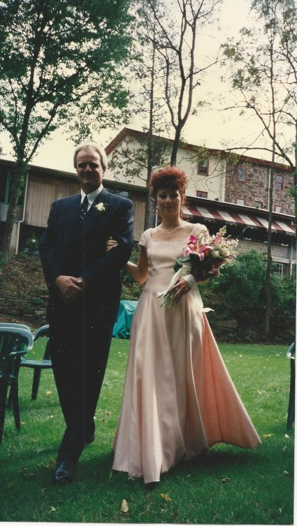 Wedding day 1996