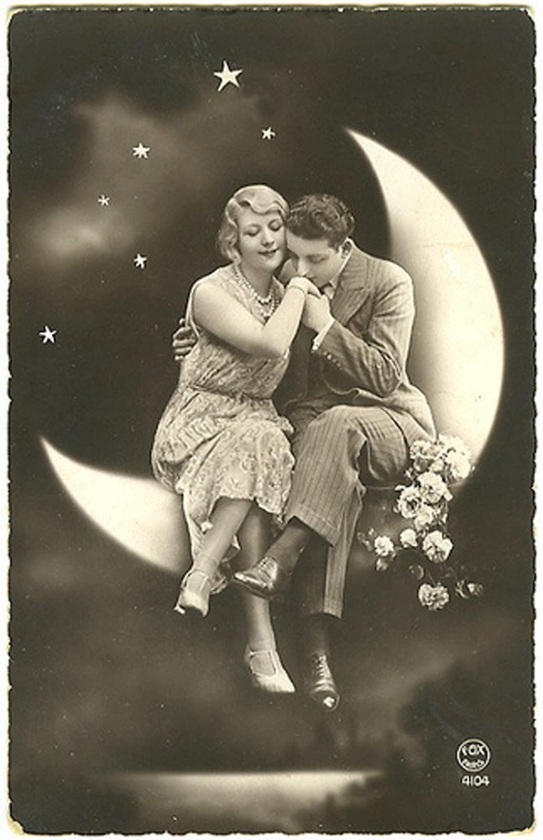moon and love