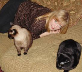 Tracy, Bibi, and Binky