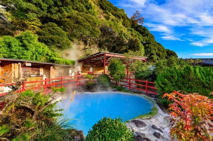 Beppu Japan Hot Springs