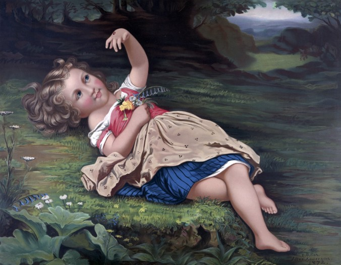 child-with-ladybug-painting